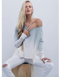Free People | Blue We The Free Starry Night Tee | Lyst