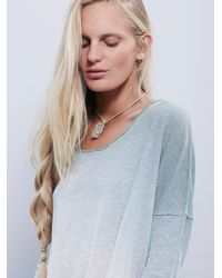 Free People   Blue We The Free Starry Night Tee   Lyst