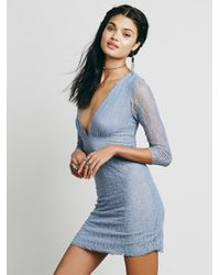 Free People | Blue Intimately Womens When In Rome Slip | Lyst