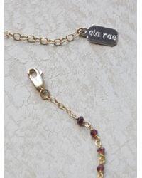 Free People | Metallic Yael Arrow Rosary | Lyst