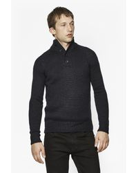 French Connection   Blue Island Placket Jumper for Men   Lyst