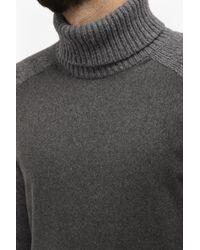French Connection | Multicolor Melton Knit Turtle Neck Jumper for Men | Lyst