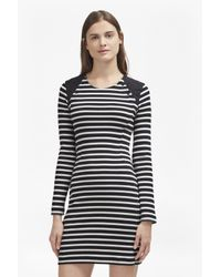 French Connection | Blue Annie Stripe Tunic Dress | Lyst
