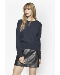 French Connection | Blue Claudie Cashmere Jumper | Lyst