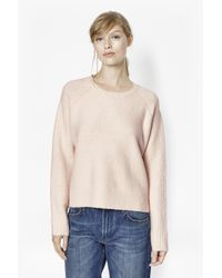 French Connection - Natural Rsvp Now Wool Jumper - Lyst