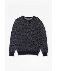 French Connection - Blue Kilmer Dot Knit Jumper for Men - Lyst