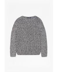French Connection - Black Ska Knitted Jumper for Men - Lyst