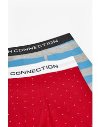 French Connection - Blue Peter Printed 2pk Trunks for Men - Lyst