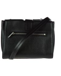 Michael Kors - Black Leather Cross-body Messenger Shoulder Bag Bond - Lyst