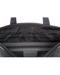 Emporio Armani - Gray Bag Handbag Tracolla In Pelle for Men - Lyst