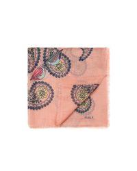 Furla - Pink Carré Toni Pesca - Lyst