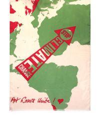 Vivienne Westwood | Green New Atlas Scarf Ecru | Lyst