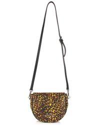 Vivienne Westwood | Leopard 190039 Shoulder Bag Yellow | Lyst