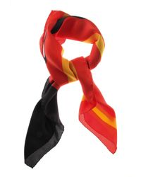 Moschino - Red Cny Edition Pudgy Scarf Multi - Lyst