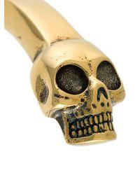 Alexander McQueen - Multicolor Skull Cuff for Men - Lyst
