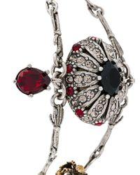 Alexander McQueen - Multicolor Bee Embellished Bracelet - Lyst