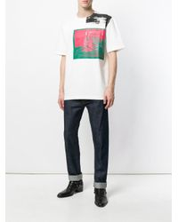 CALVIN KLEIN 205W39NYC - Multicolor Graphic T-shirt for Men - Lyst