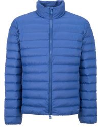 Geox | Blue Men's Down Jacket for Men | Lyst