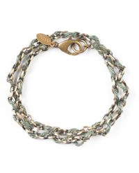 G.H. Bass & Co. | Green Astali ® Jute Cord With Antique Metal Chain | Lyst