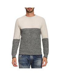 Paolo Pecora - Gray Sweater Men for Men - Lyst