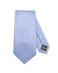 Armani - Blue Tie Men for Men - Lyst
