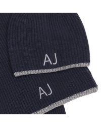 Armani Jeans - Blue Hat Men for Men - Lyst