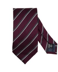 Ermenegildo Zegna - Purple Tie Men for Men - Lyst