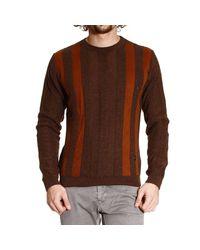 Versace - Brown Versace Men's Sweater for Men - Lyst