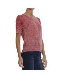 Emporio Armani - Red Giorgio Armani Women's Sweater - Lyst