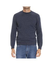 Ermenegildo Zegna | Blue Men's Sweater for Men | Lyst