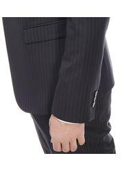 Emporio Armani | Black Suit for Men | Lyst