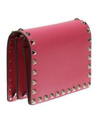 Valentino - Pink Women's Clutch - Lyst