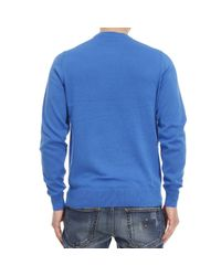 Fred Perry - Blue Men's Sweater for Men - Lyst