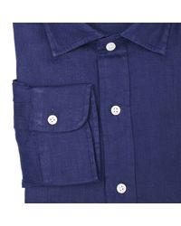 Polo Ralph Lauren | Blue Ralph Lauren Men's Shirt for Men | Lyst