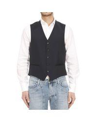 Z Zegna   Black Suit Vest for Men   Lyst