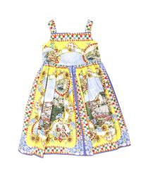 Dolce & Gabbana - Multicolor Pisa Stripe Dress - Lyst