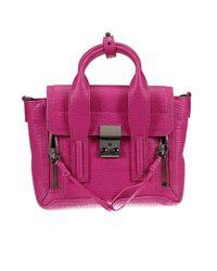 3.1 Phillip Lim | Red Pashli Mini Leather Satchel | Lyst