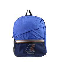 Lyst - K-Way Backpack Handbag Woman in Blue 4d0c89903f