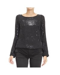 Patrizia Pepe | Black Top Woman | Lyst