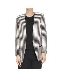 Elisabetta Franchi - Black Blazer Suit Jacket Woman - Lyst