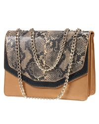 Elisabetta Franchi - Multicolor Clutch Handbag Woman - Lyst