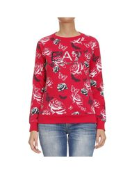 EA7 - Multicolor Sweater Woman Ea7 - Lyst