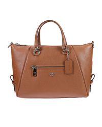 COACH | Brown Handbag Woman | Lyst
