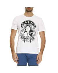 Just Cavalli - White T-shirt Men for Men - Lyst