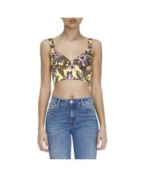 RED Valentino | Yellow Top Women | Lyst