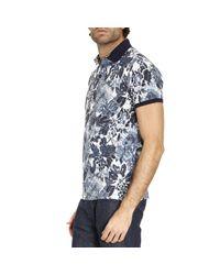 Etro - Blue T-shirt Men for Men - Lyst