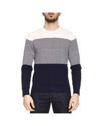 Z Zegna   Blue Sweater Men for Men   Lyst