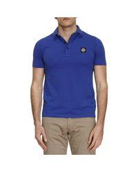 Stone Island - Blue T-shirt Men for Men - Lyst