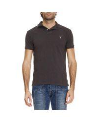 Polo Ralph Lauren | Gray T-shirt Men for Men | Lyst