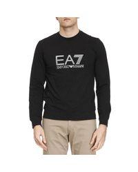 EA7 | Black Sweater Men Ea7 for Men | Lyst